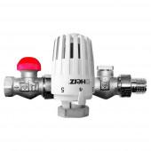 "Herz Project V772363 (TS-90-V) 1/2"" - Радиаторный термокомплект прямой"