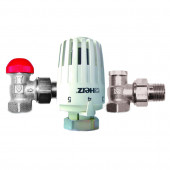 "Herz Project V772463 (TS-90-V) 1/2"" - Радиаторный термокомплект угловой"