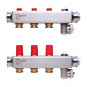 Danfoss SSM-3 (088U0803) Коллектор из нержавеющей стали без ротаметров