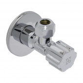"Приборный кран угловой Raftec Silver 1/2""x3/8"" VBE01095"