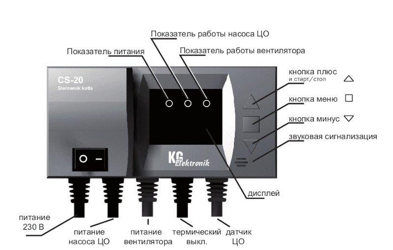 Описание контроллера KG-Elektronik CS-20